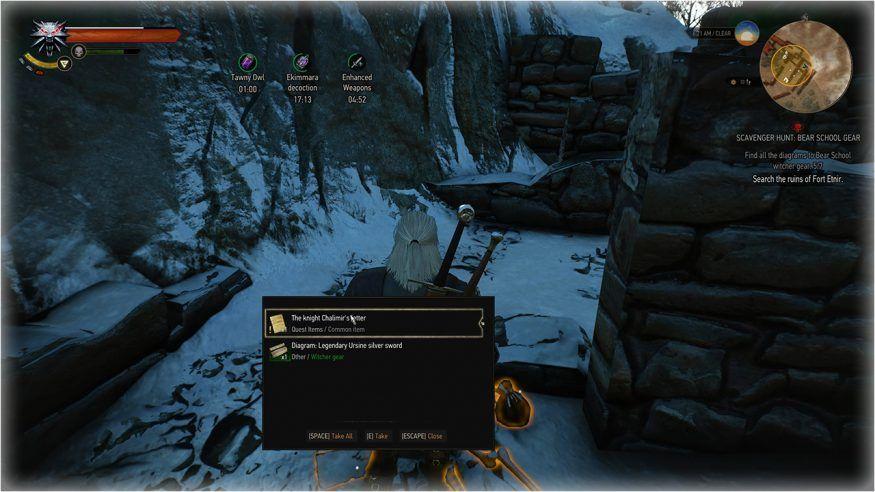 WITCHER 3 Armor Guide: Legendary Bear School (Ursine) Set