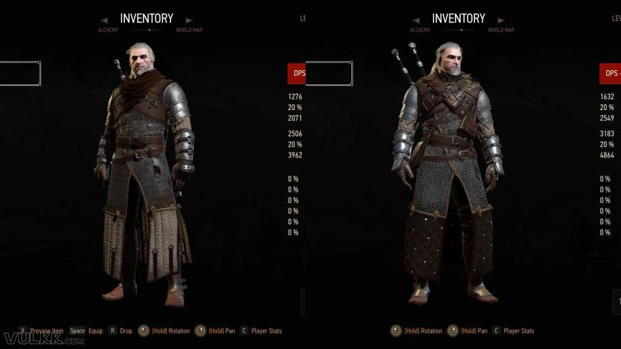 WITCHER 3 Grandmaster URSINE Gear Guide (Blood and Wine Armor