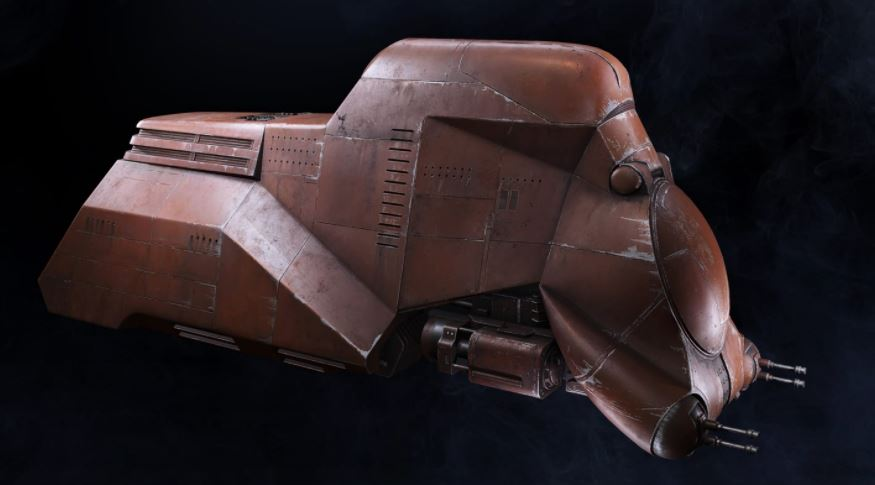 All Star Wars Battlefront II Ships and Ground Vehicles