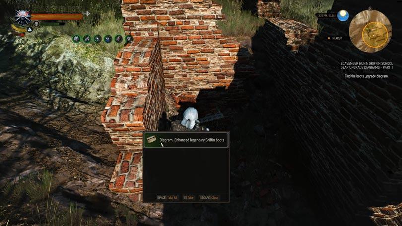 Witcher 3 Legendary Ehnahced Griffin School Gear Guide Vulkk Com