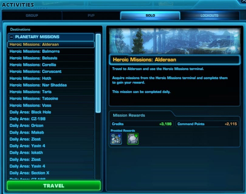 SWTOR Tips on How to Make Credits Fast and Easy - VULKK com