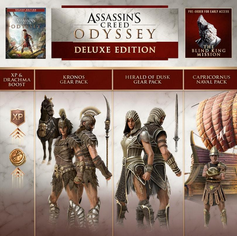 Ac Odyssey Editions And Season Pass Contents Vulkk Com