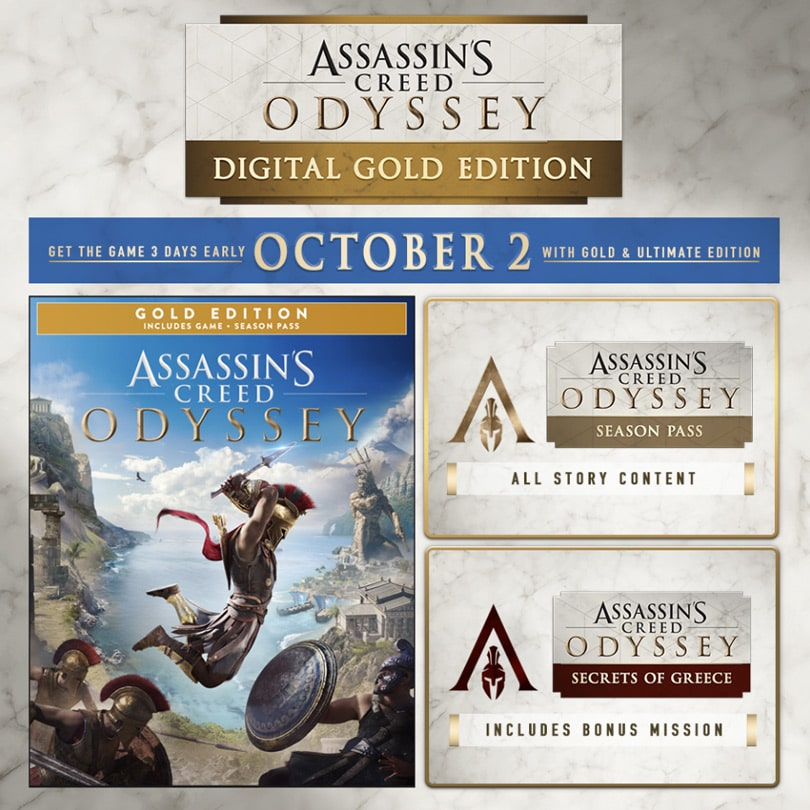 assassins creed odyssey gold editionfull unlocked - 810×810