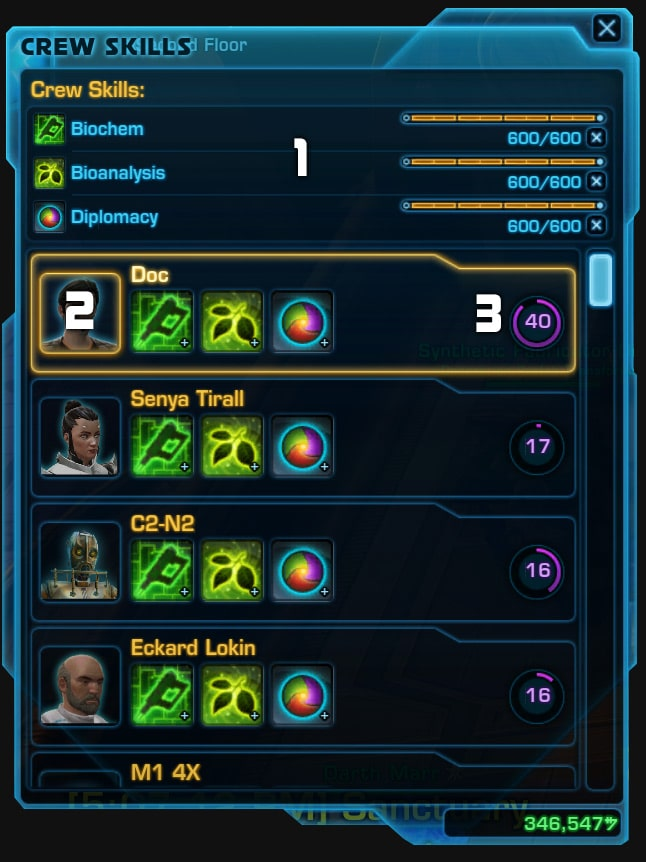 Swtor crew skills and crafting: a beginners guide vulkk. Com.