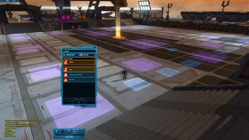 matchmaking Arena SWTOR par