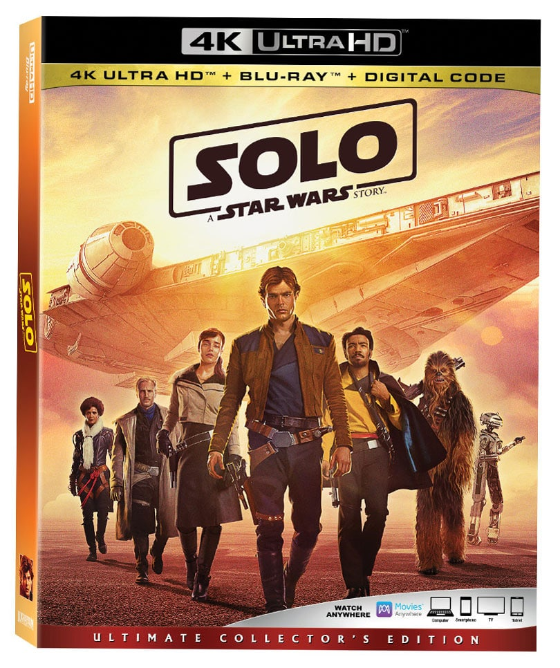 Solo: A Star Wars Story Blu-ray and DVD Releases Announced