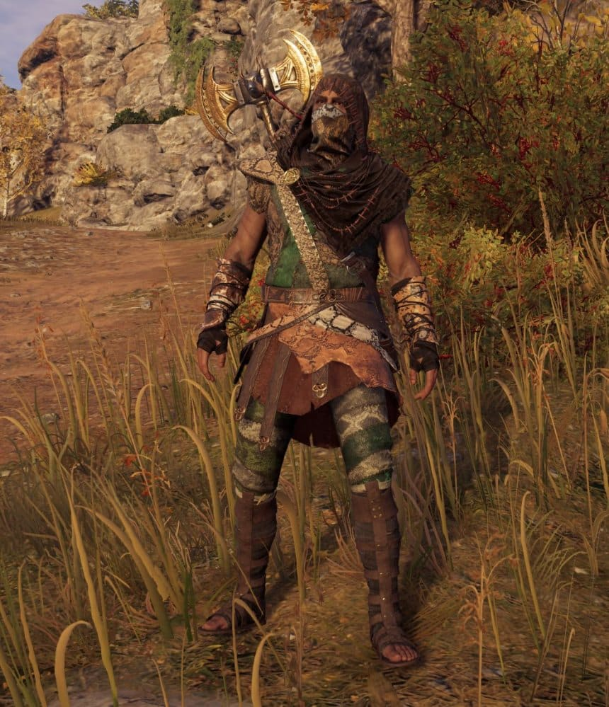 Assassin's Creed Odyssey Legendary Weapons and Armor Sets