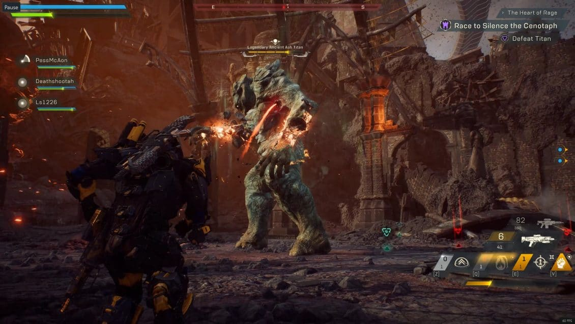 Anthem The Heart Of Rage Stronghold Guide Vulkk Com