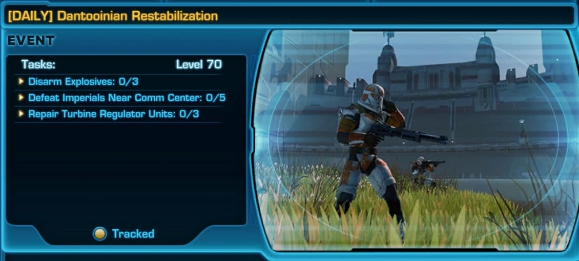 SWTOR Dantooine Event Missions and Achievements Guide - VULKK com