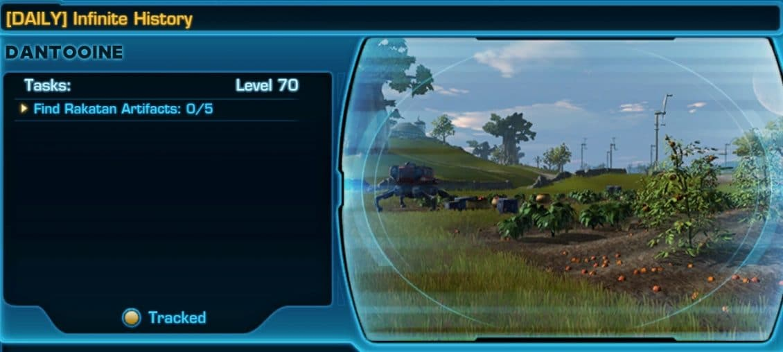 SWTOR Dantooine Event Missions and Achievements Guide