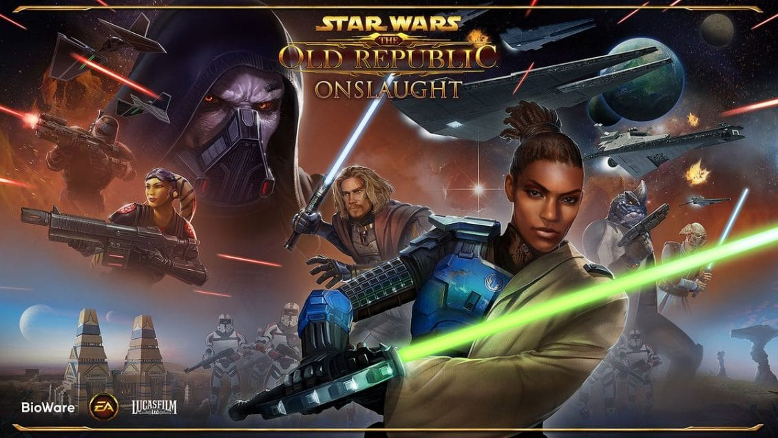 SWTOR 6 0 Onslaught News from San Diego Comic Con Cantina