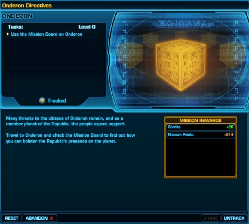 SWTOR Onderon Daily Missions Guide - VULKK com