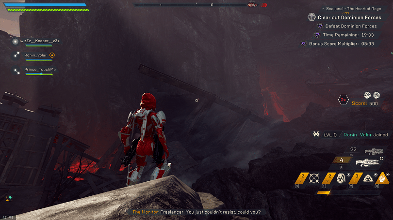 Anthem Seasonal Heart Of Rage Guide To All Secrets And Puzzles