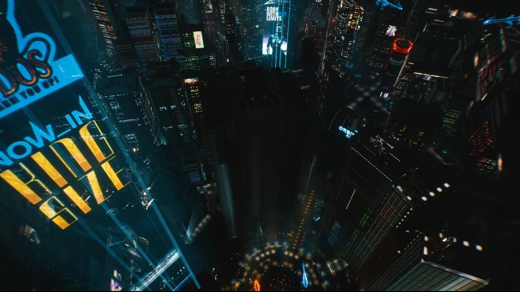 Cyberpun 2077 Night City City Center